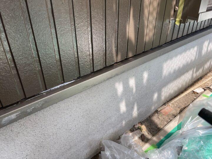 水切り塗装/施工前